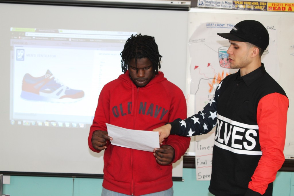 Best school lesson of the year: Create your own sneaker design