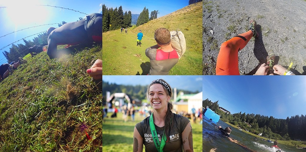 Collage Reebok Social Media Spartan Race