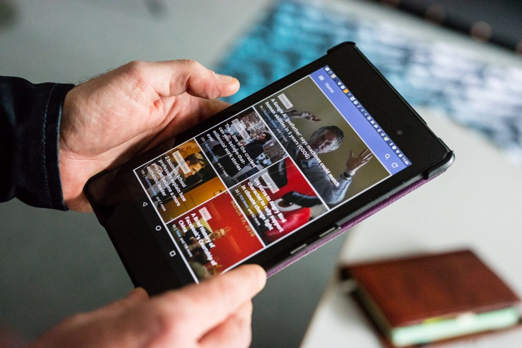 Fine-tune your reading list with the help of mobile news aggregators like News 360.