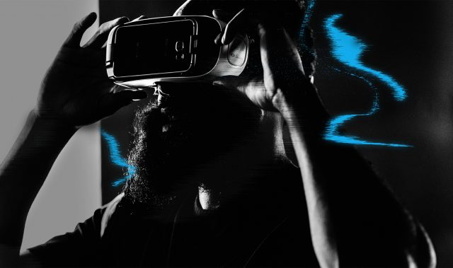 James Harden watching through VR glasses, Virtual Reality, coding, hackathon, digital, technology, innovation, adidas, GamePlan A