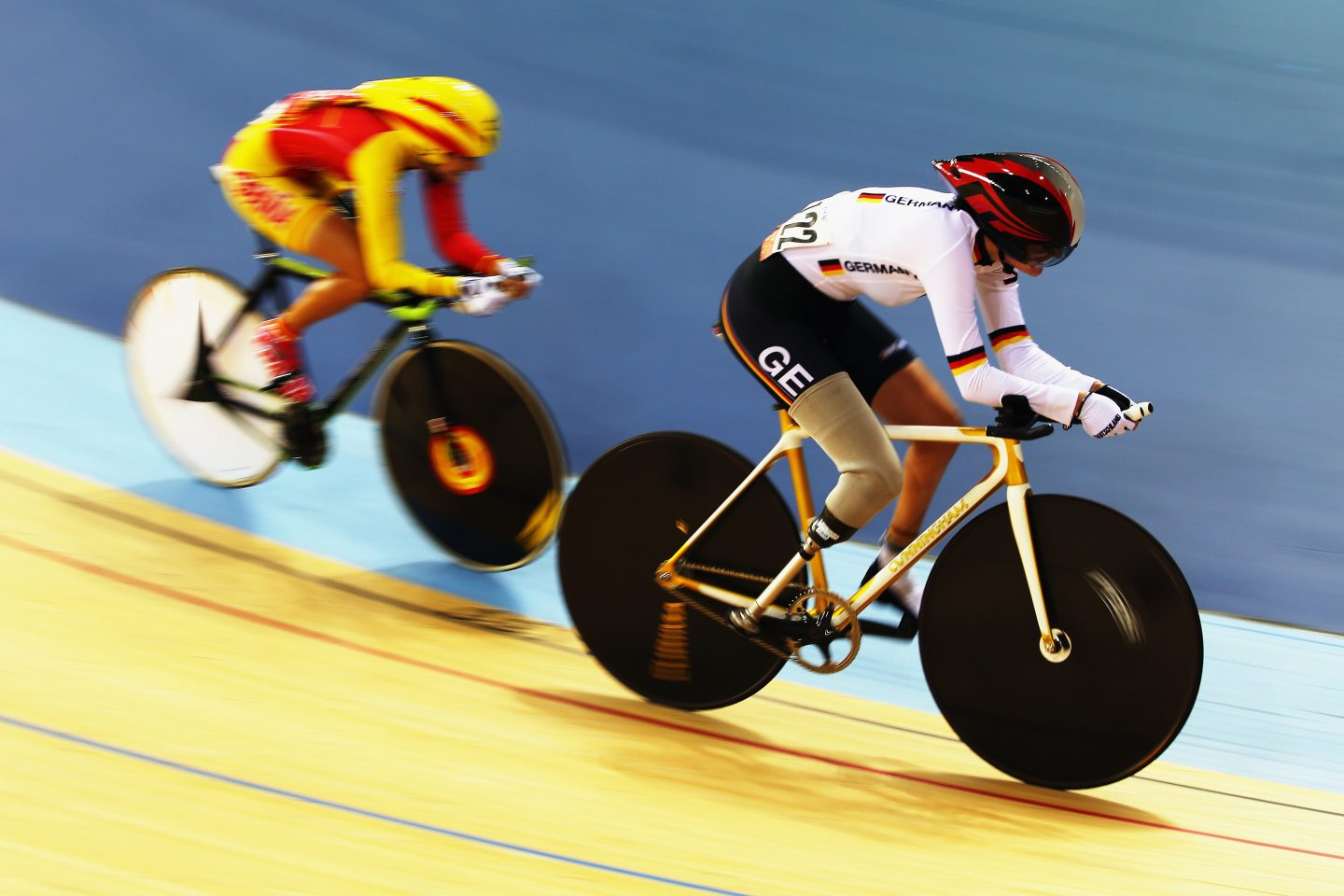 Denise Schindler competing at 2012 Paralympic Games in London, England, para-cyclist, paralympian, paralympics,motivation, inspiration, GamePlan A