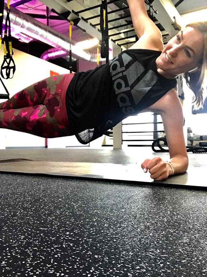 Denise Schindler working out in adidas gym, training, paralympian, para-cyclist, energy, exercise, sports marketing, adidas, GamePlan A