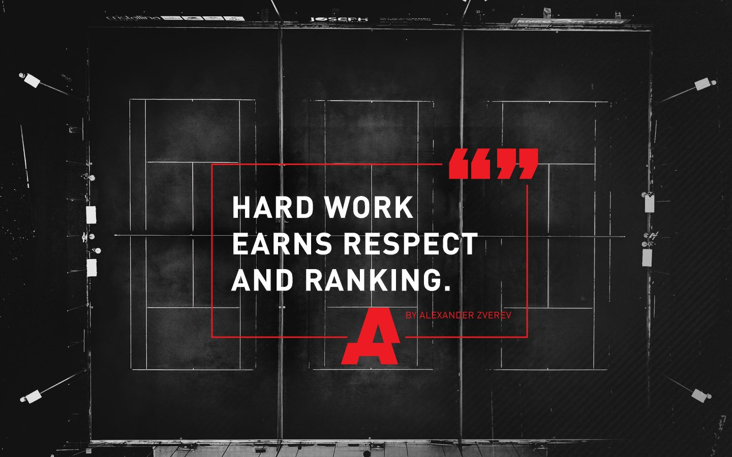 motivational quote, hard work earns respect and ranking, Stan Smith, GamePlan A