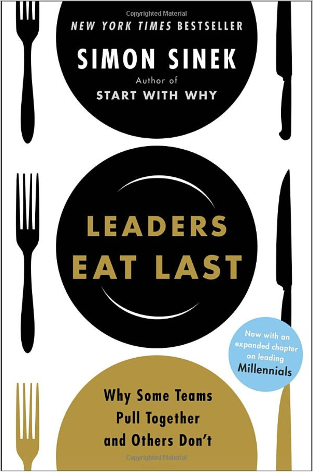 Book cover of Simon Sinek's book 'Leaders Eat last', summer reading list, diversity, inspiration