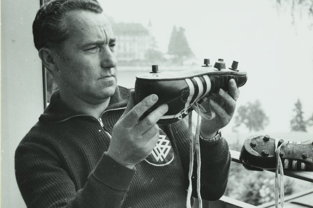 Adi Dassler, the founder of adidas and the most important asset of the adidas history