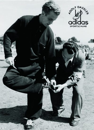 Adi Dassler the founder of adidas and the most important part of adidas history