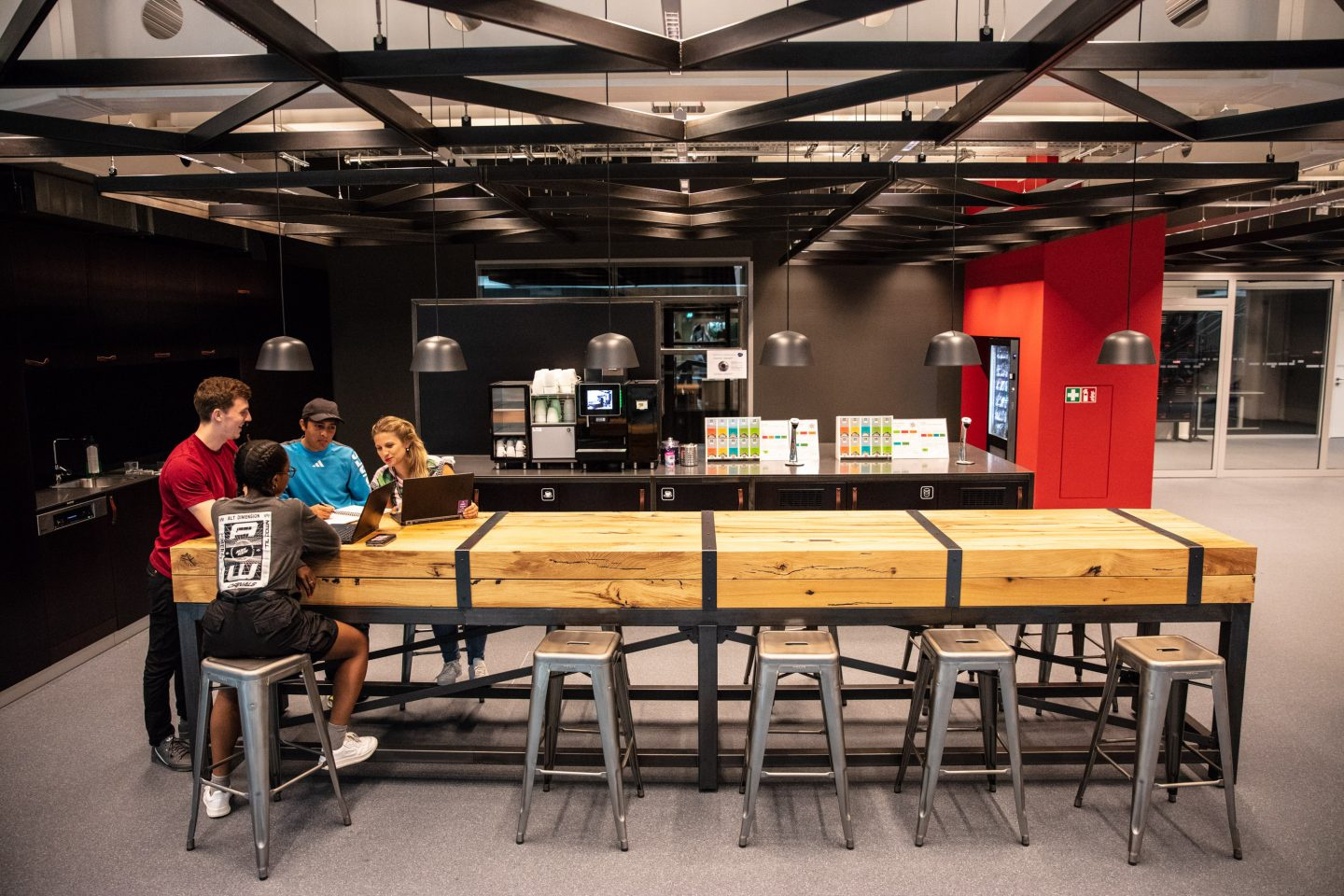 kitchen hub at adidas' Arena