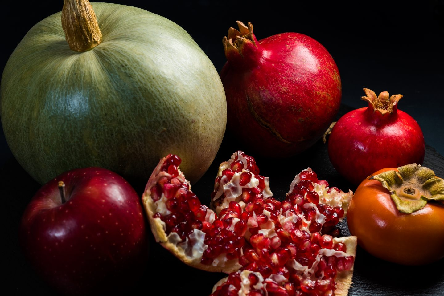 pomegranate holiday cooking