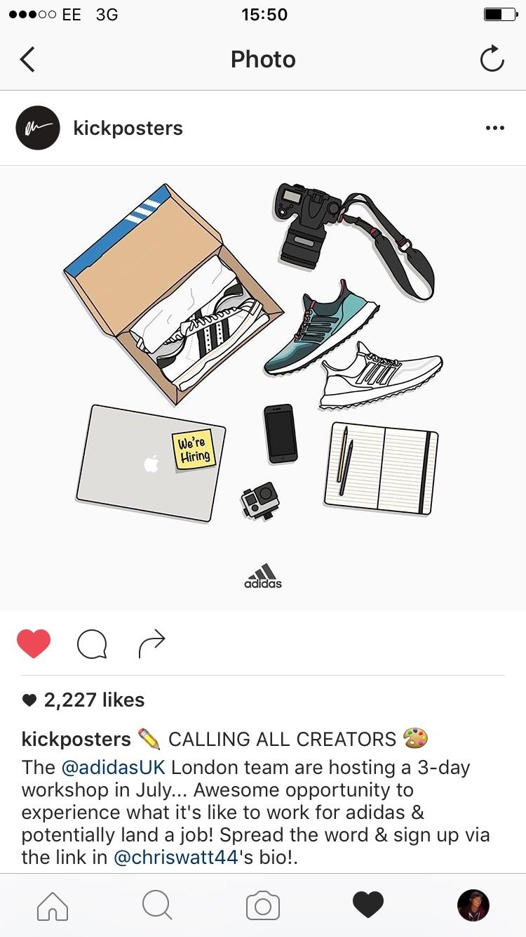 screenshot kickposters sneakers making the right hire