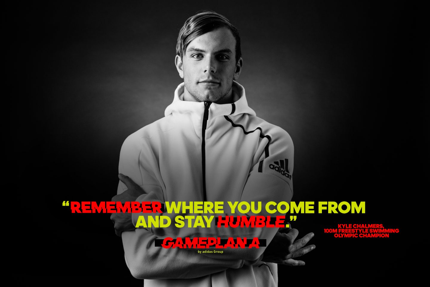 kyle chalmers swimmer olympic swimming champion quote