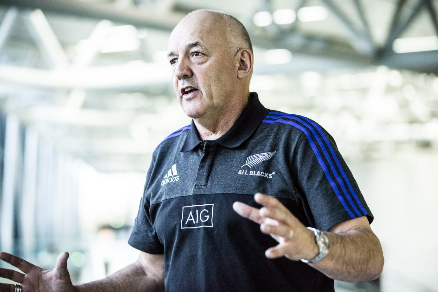 All Blacks Mental Coach Gilbert Enoka talking mental strenght and team spirit