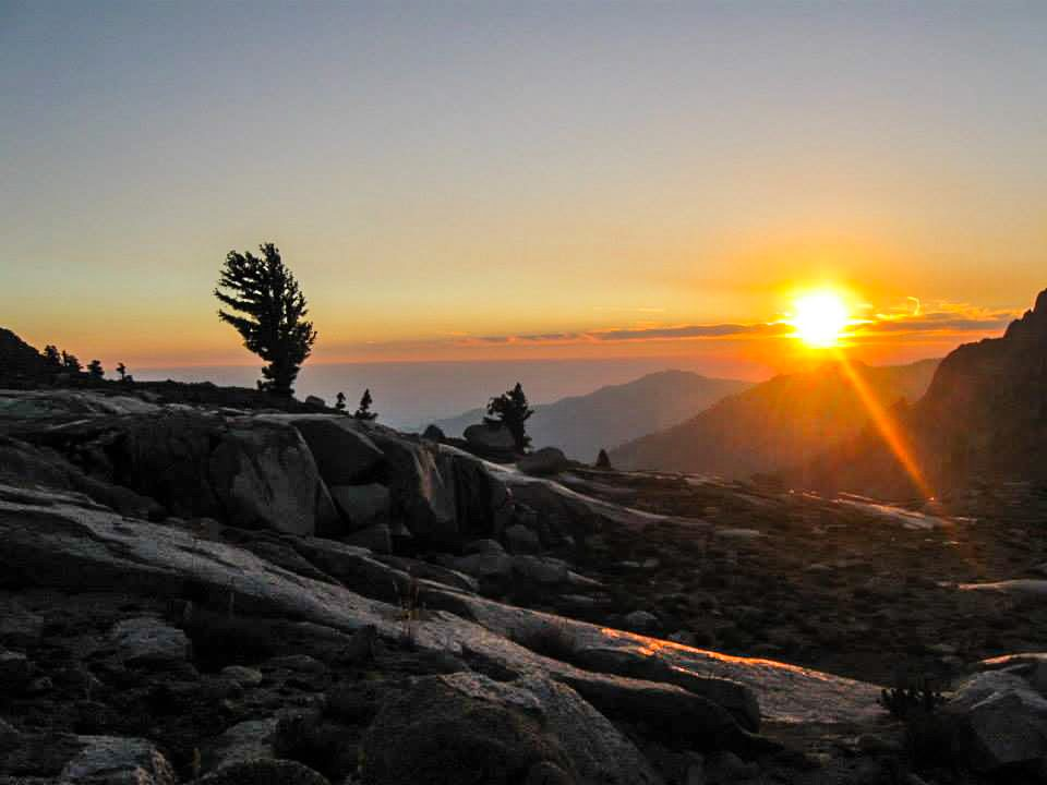 Sunset is a special time at Sequoia and Kings Canyon National Parks Sundowner