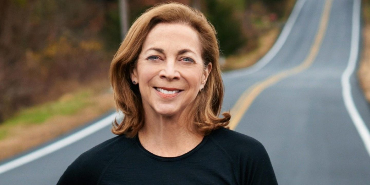 Kathrine Switzer portrait smiling