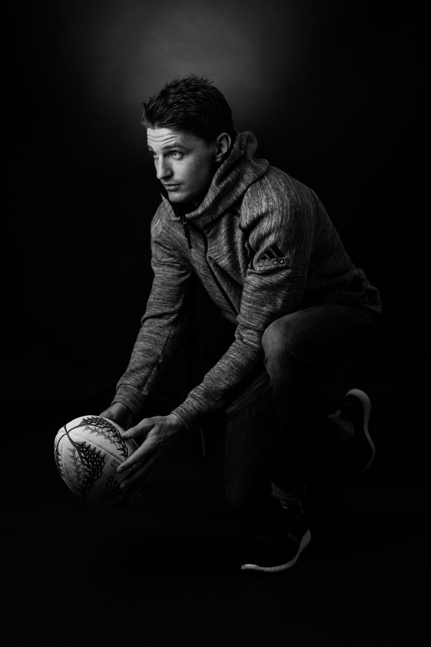 Beauden Barrett Rugby Kick Whats your GamePlan A Black White