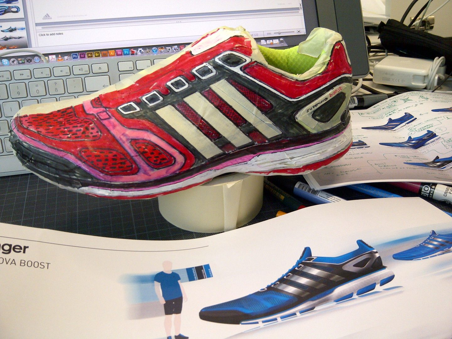 51e208aa08b7 Boost – innovation in true adidas Running style and where it found  inspiration