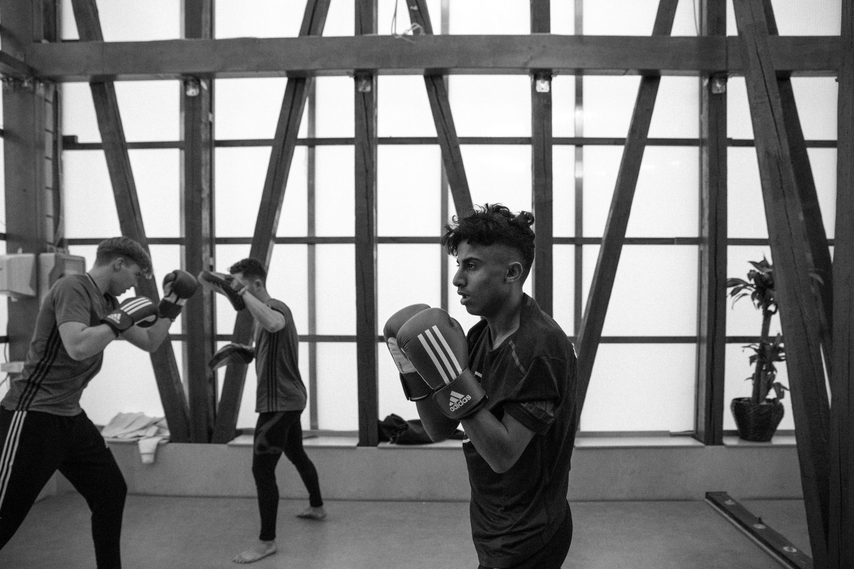 adidas teambuilding coach leadership performance football base boxing Berlin future players