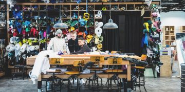 Men working in creative environment; adidas-Gameplan a-makerlab-creativity-employees-creators