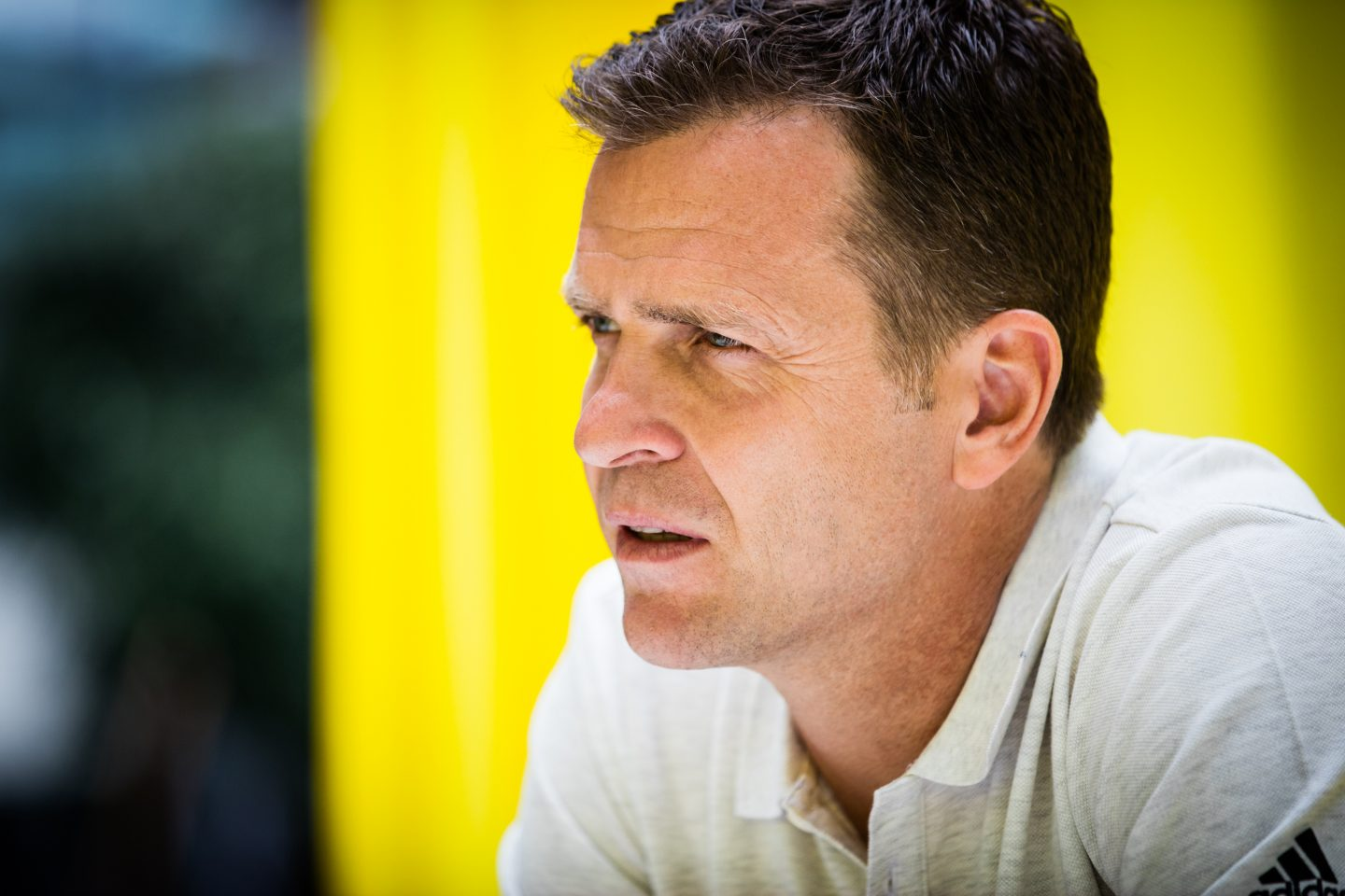 Close up Oliver Bierhoff, DFB_Interview_adidas_GamePlan A