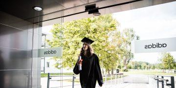 work experience_after graduation_excitement_new life chapter_opens doors_adidas logo neu