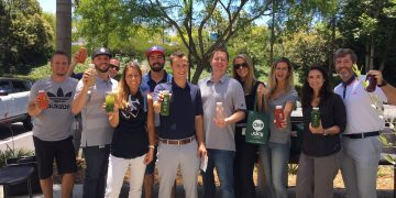 Team Building-group-event- sunny- juice