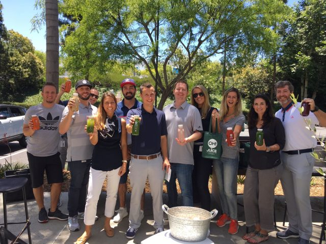 Team Building-group-event- sunny- juice